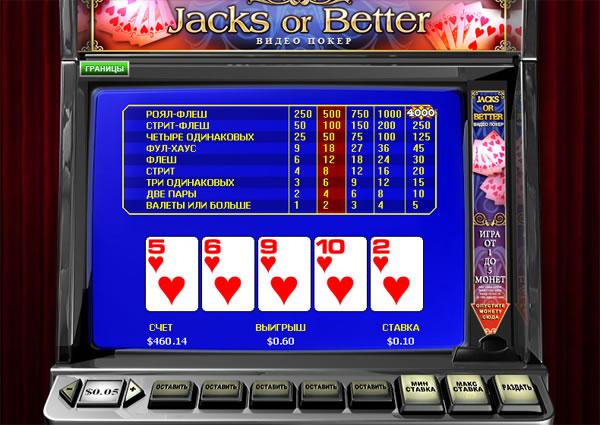 онлайн видео покер